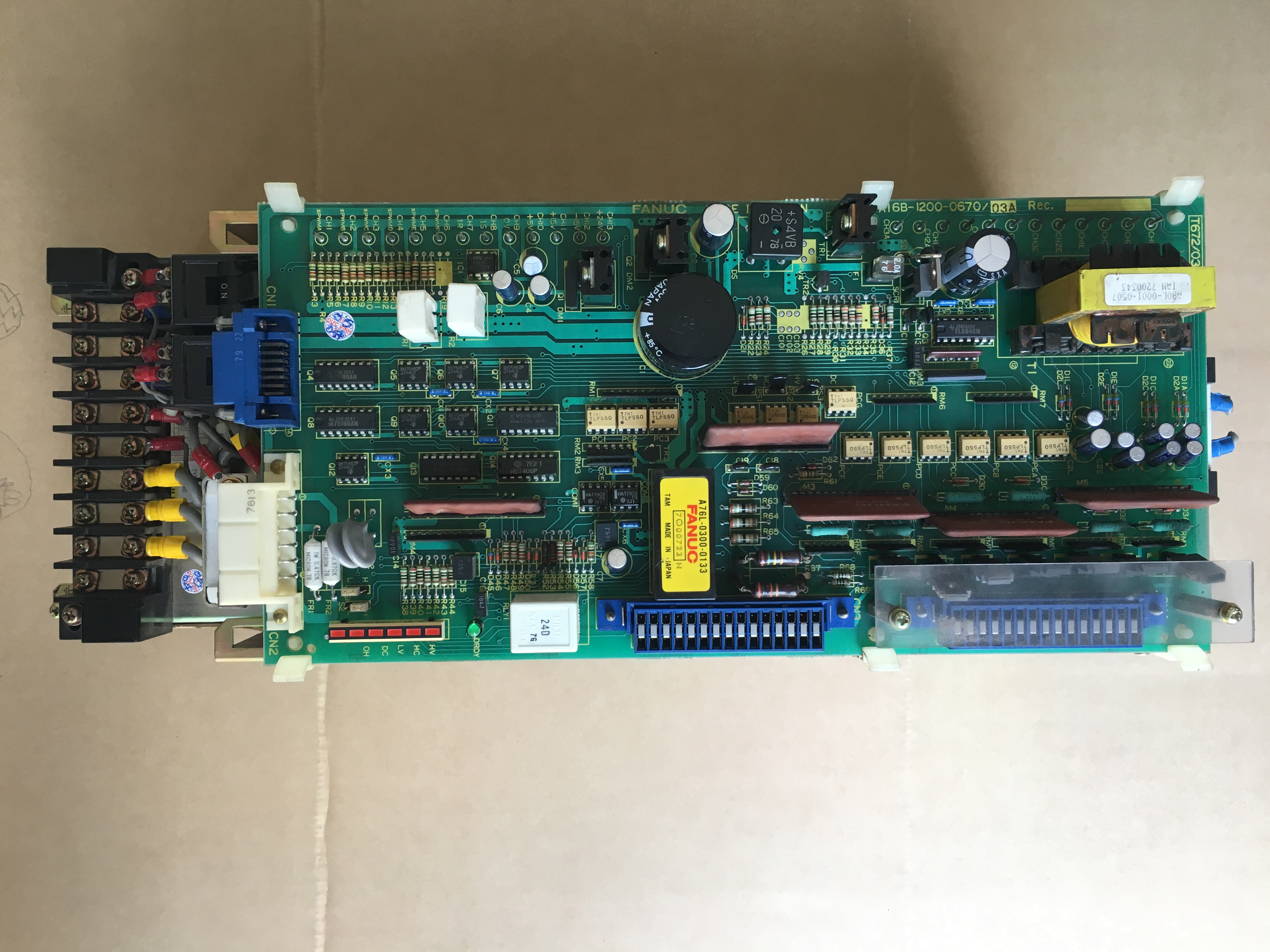 used and tested FANUC circuit board cnc spare part A20B-2900-0430